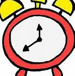 cartoon clock